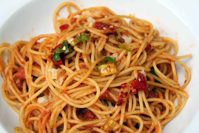 "Spaghetti ""all` amatriciana Art"""
